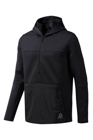 Reebok Thermowarm Control Hoodie - Black image 4 - The Sports Edit