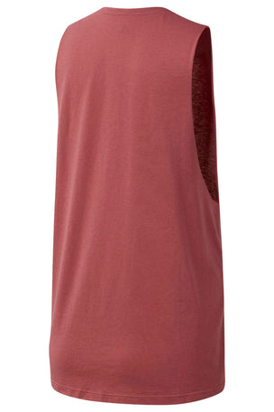 Reebok Graphic Series Moto Reebok Muscle Tank Top - Rose Dust image 6 - The Sports Edit