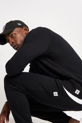 Reigning Champ Classic Crewneck Terry Black image 3 - The Sports Edit