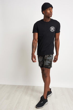 Reigning Champ Crest Logo Tee Black image 4 - The Sports Edit