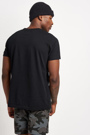 Reigning Champ Crest Logo Tee Black image 2 - The Sports Edit