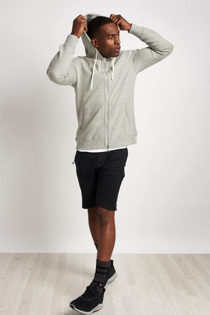 Reigning Champ Full Zip Hoodie Mid Weight Grey image 4 - The Sports Edit