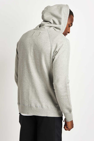 Reigning Champ Full Zip Hoodie Mid Weight Grey image 2 - The Sports Edit