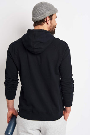 Reigning Champ Full Zip hoodie - Midweight Terry Black image 2 - The Sports Edit