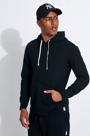 Reigning Champ Pullover Hoodie - Black image 1 - The Sports Edit