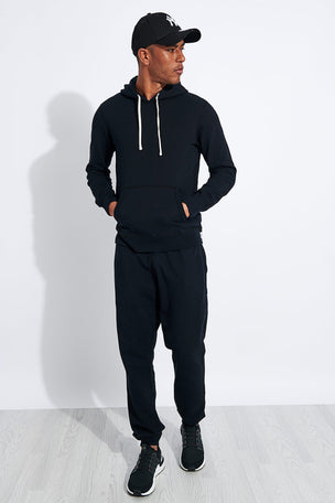 Reigning Champ Pullover Hoodie - Black image 3 - The Sports Edit
