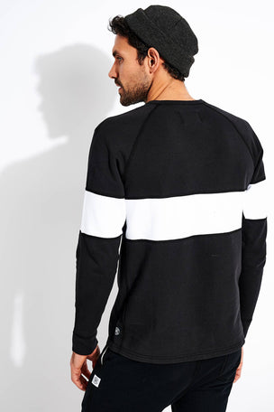 Reigning Champ Rugby Crewneck - Black image 3 - The Sports Edit
