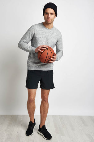Reigning Champ Side Zip Crewneck Sweatshirt Ice image 5 - The Sports Edit