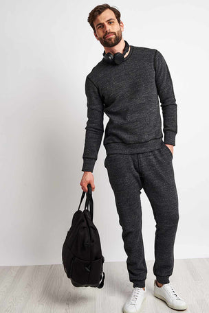 Reigning Champ Side Zip Crewneck - Mesh Double Knit image 4 - The Sports Edit