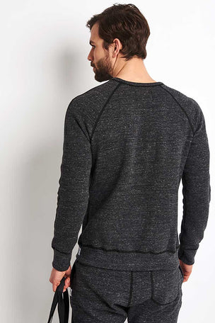 Reigning Champ Side Zip Crewneck - Mesh Double Knit image 2 - The Sports Edit