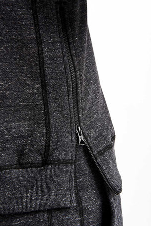 Reigning Champ Side Zip Crewneck - Mesh Double Knit image 3 - The Sports Edit
