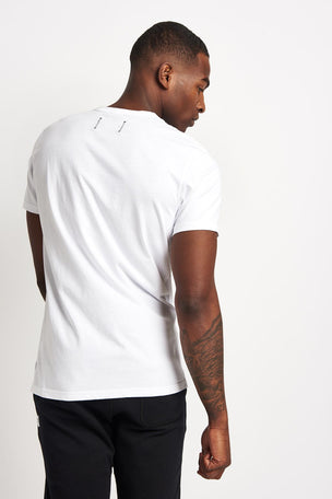 Reigning Champ Set-In Short Sleeve Tee White image 2 - The Sports Edit