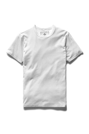 Reigning Champ Set-In Short Sleeve Tee White image 5 - The Sports Edit