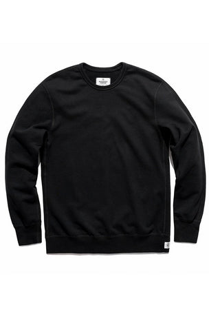 Reigning Champ Classic Crewneck Terry Sweatshirt - Black image 5 - The Sports Edit