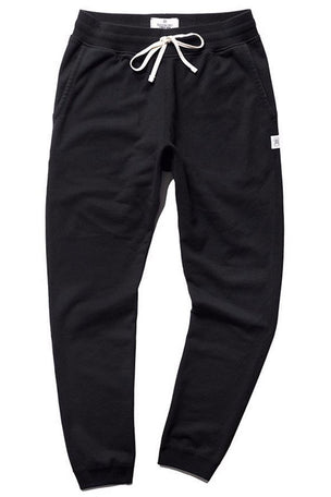 Reigning Champ Slim Sweatpant Terry Black image 5 - The Sports Edit