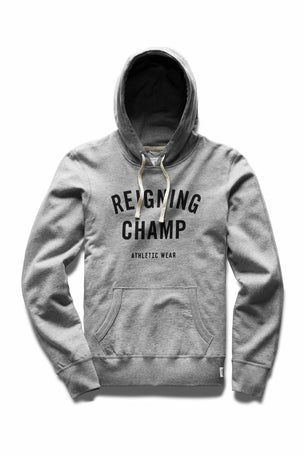Reigning Champ Gym Logo Hoodie - Midweight Terry image 5 - The Sports Edit