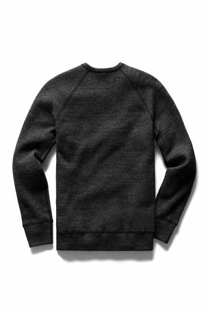Reigning Champ Side Zip Crewneck - Mesh Double Knit image 6 - The Sports Edit