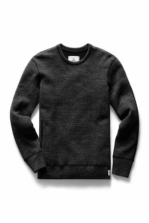 Reigning Champ Side Zip Crewneck - Mesh Double Knit image 5 - The Sports Edit