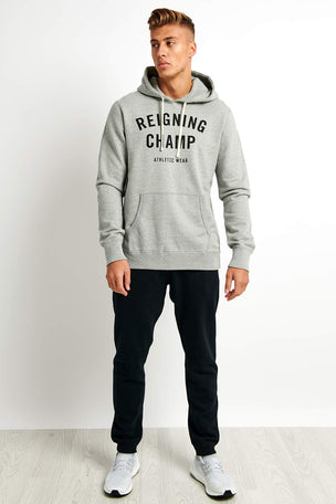 Reigning Champ Gym Logo Hoodie - Midweight Terry image 4 - The Sports Edit