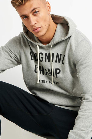 Reigning Champ Gym Logo Hoodie - Midweight Terry image 3 - The Sports Edit