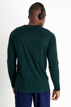 Rhone Reign Long Sleeve - Ponderosa Pine Heather image 3 - The Sports Edit