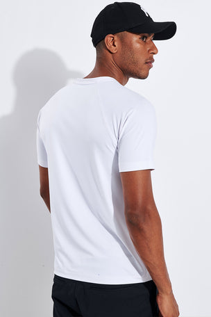 Rhone Reign Short Sleeve - Bright White image 3 - The Sports Edit