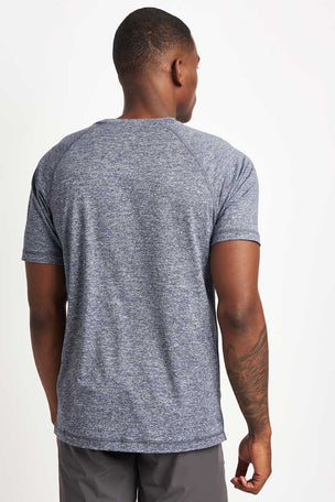 Rhone Reign Tee Midnight Heather image 2 - The Sports Edit