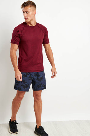 Rhone Reign Short Sleeve Tee - Zinfandel Heather image 2 - The Sports Edit