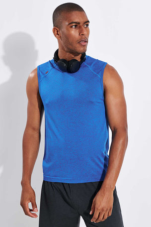 Rhone Reign Tech Sleeveless - Galaxy/Cloisonne image 1 - The Sports Edit