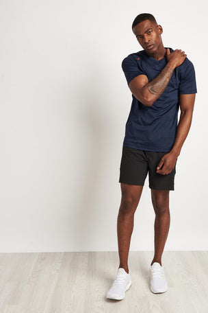 Rhone Sentry Short Sleeve T-Shirt Navy image 4 - The Sports Edit