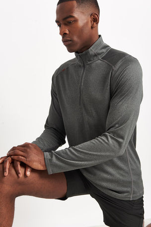 Rhone Sequoia 2.0 Zip-Up Pullover - Grey image 3 - The Sports Edit