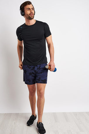 Rhone Swift Short Sleeve - Black image 3 - The Sports Edit