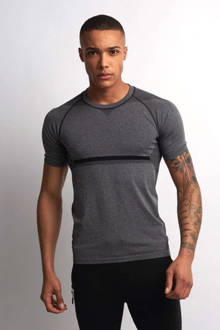 SALT Limitless Short Sleeve Tee - Granite image 1 - The Sports Edit