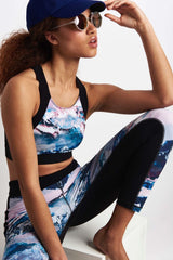 SALT Tahoe Print Legging 7/8 image 3 - The Sports Edit