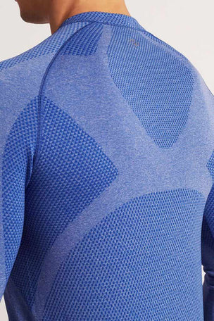 SALT Limitless Long Sleeve Tee Dazzling Blue image 3 - The Sports Edit