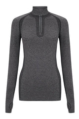 SALT Limitless Training Top Charcoal image 5 - The Sports Edit