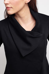 Alala Sophisticate Draped Jacket - Black image 4
