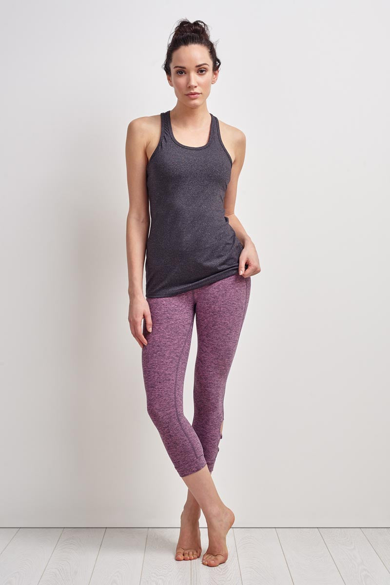 Beyond Yoga Classic Racerback Heather Grey image 4 - The Sports Edit