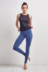 Beyond Yoga High Waist Long Legging Faded Denim image 1