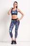Koral Orbit Sports Bra PolyChrome / Black image 4 - The Sports Edit