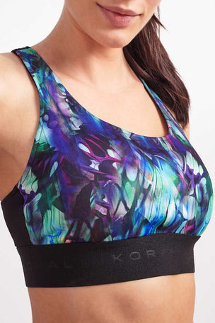Koral Orbit Sports Bra PolyChrome / Black image 3 - The Sports Edit