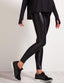 Koral Lustrous Regular Rise Legging - Black image 1 - The Sports Edit