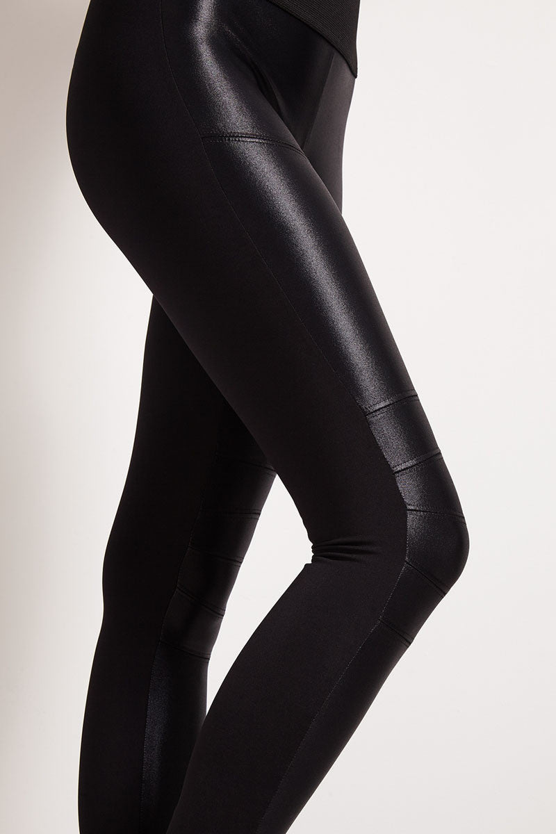 Koral Moto M. Rise Leggings-Black image 4