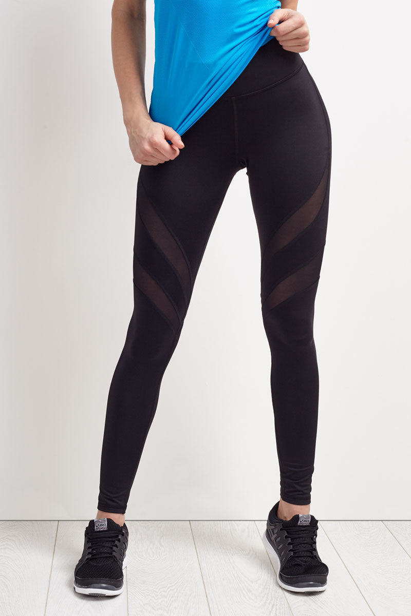 Michi Psyche Legging - Black image 1 - The Sports Edit