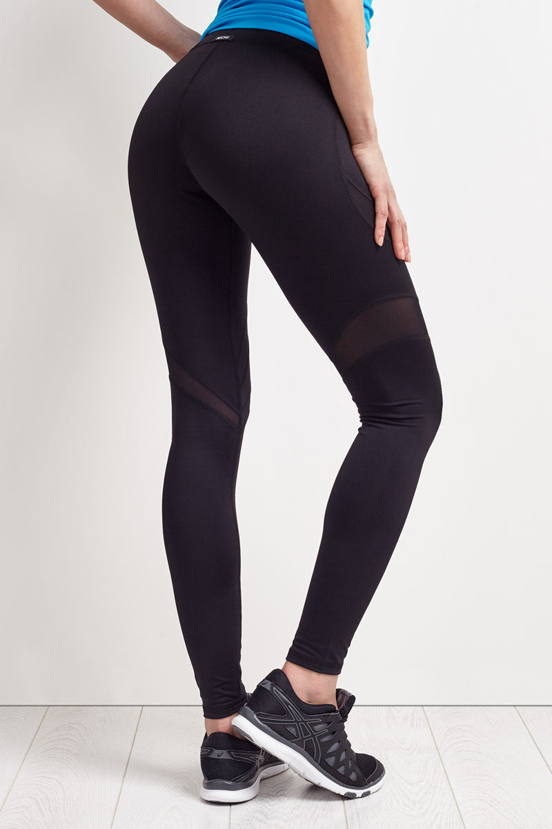 Michi Psyche Legging - Black image 2 - The Sports Edit