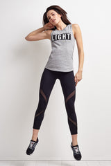 Michi Hydra Crop Legging - Black image 1