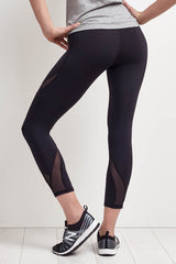 Michi Hydra Crop Legging - Black image 3