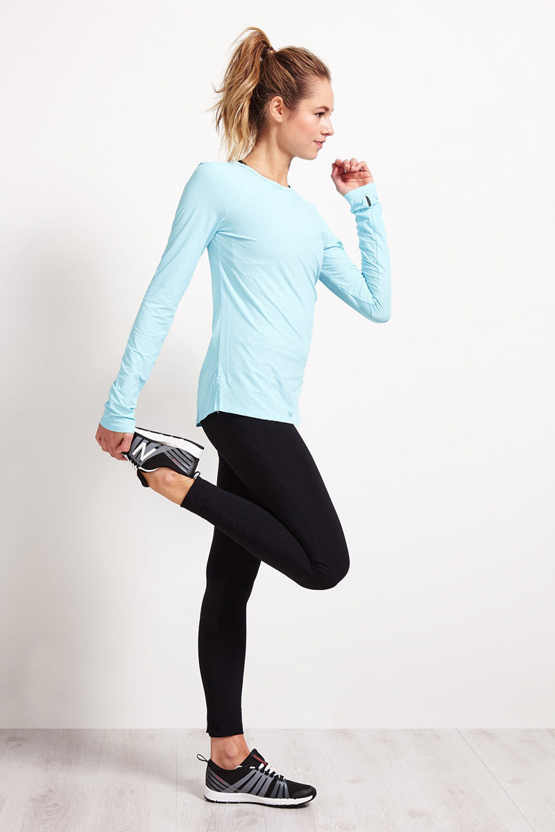 Under Armour Coolswitch Run Long Sleeve - Sky Blue image 5