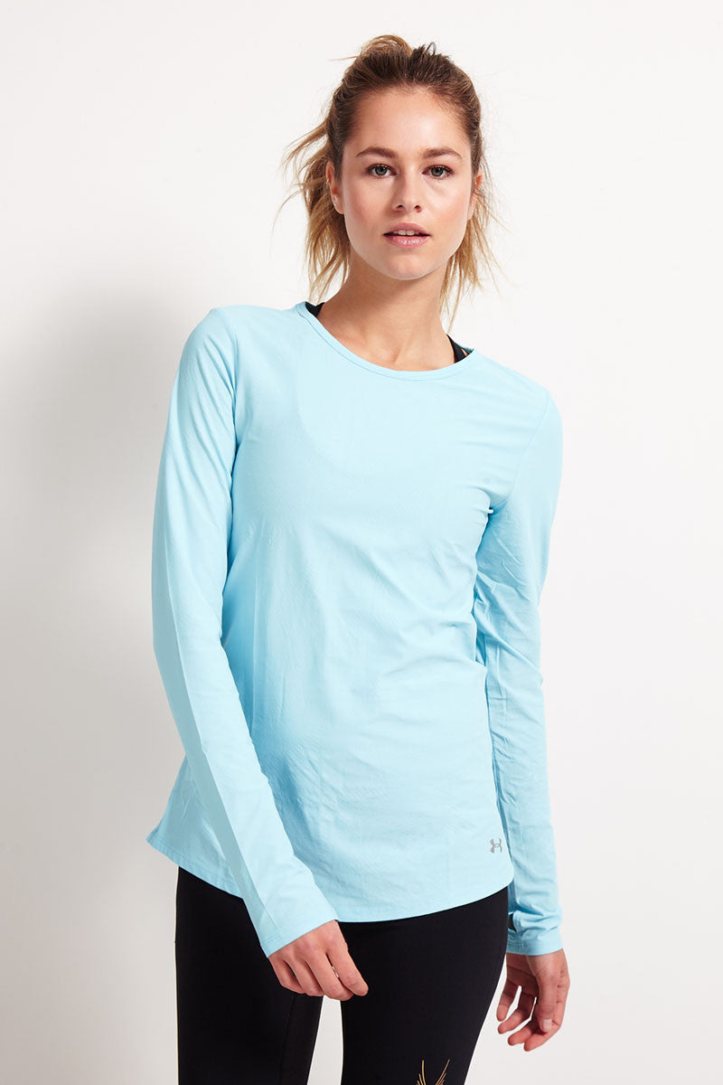 Under Armour Coolswitch Run Long Sleeve - Sky Blue image 2