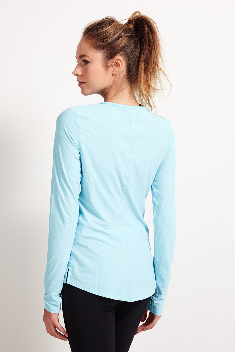 Under Armour Coolswitch Run Long Sleeve - Sky Blue image 3